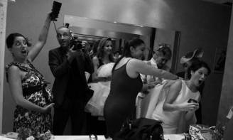 Divirtiéndome en otra boda