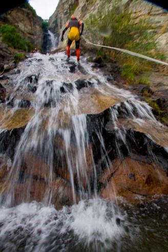 28-7-2013 Descenso del barranco de Somosierra. foto: santi burgos