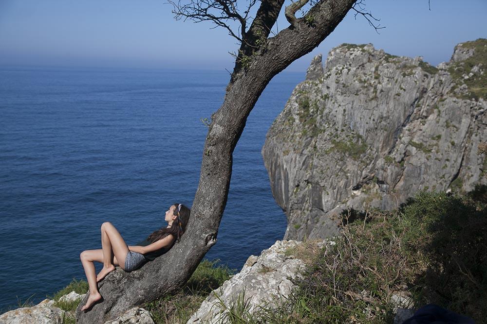 Acantilados junto a la Cueva del Pindal. Pimiango. Asturias