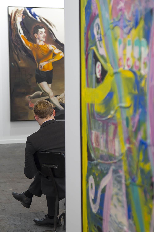 DVD 831 23-02-17 ARCO. STAND de la Galería Tim Van Laere. Foto: santi burgos